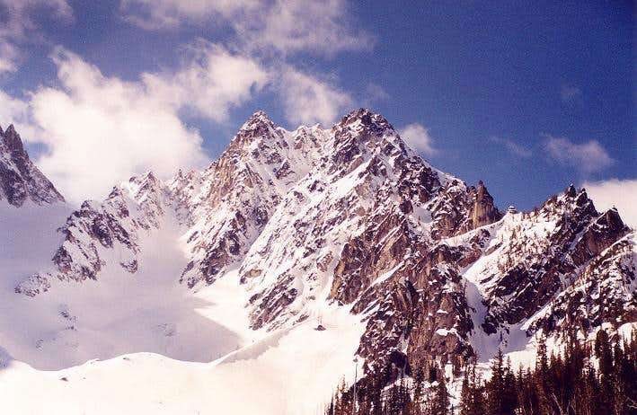Colchuck Peak from the south...