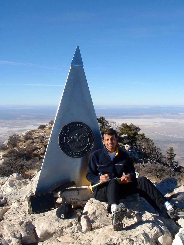 rakya, signing the summit log