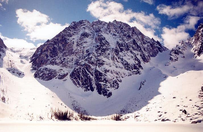 Dragontail Peak's West and...
