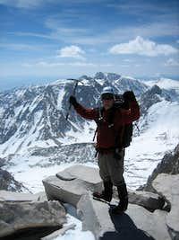 Heath on Whitney's summit