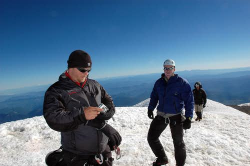 Mt Rainier summit