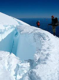 Mt Rainier crevass