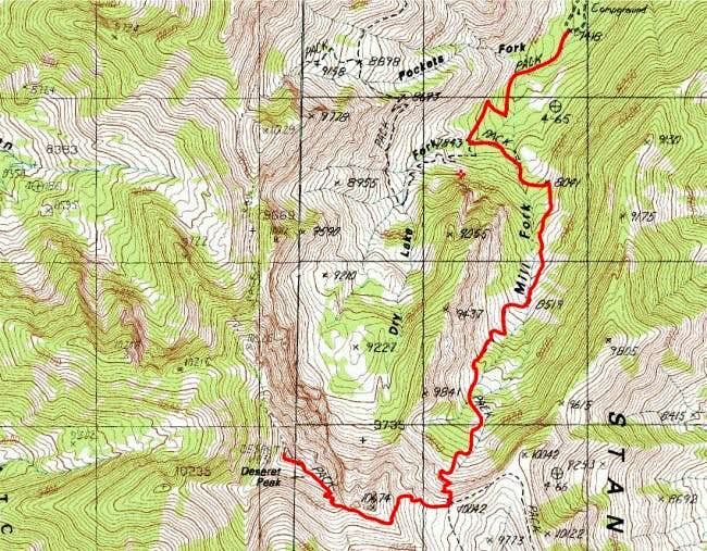 South Willow Creek Route