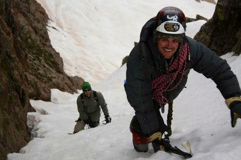 Mt. Eolus\' East Couloir