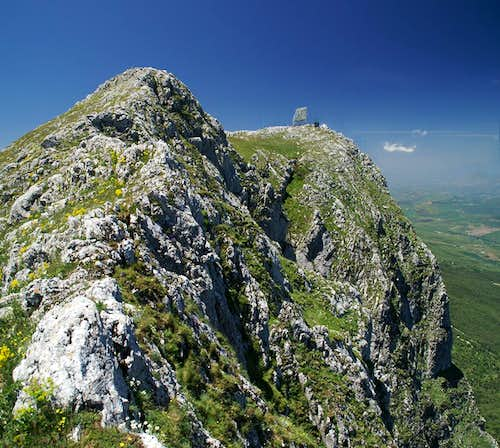 Rocca Busambra main summit