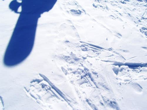 My snowboard
