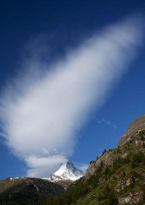 Clouds over Cervino