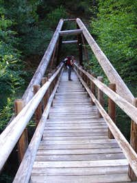 The bridge we camped at the first night