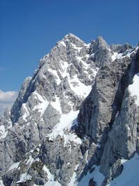 NW face of Ojstrica