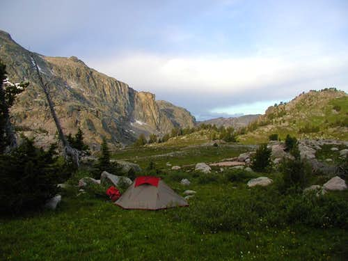 Camp Near Lozier Lake
