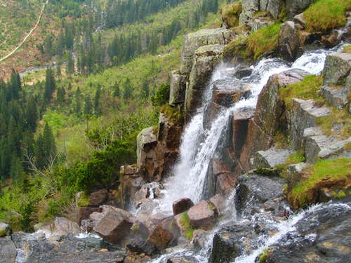 Panèavský vodopád(Panèava waterfall)