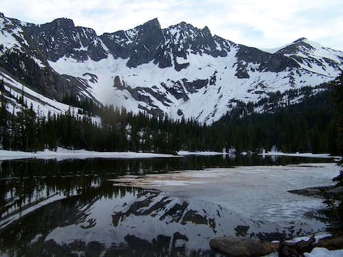 View from Eastern Twin Lake