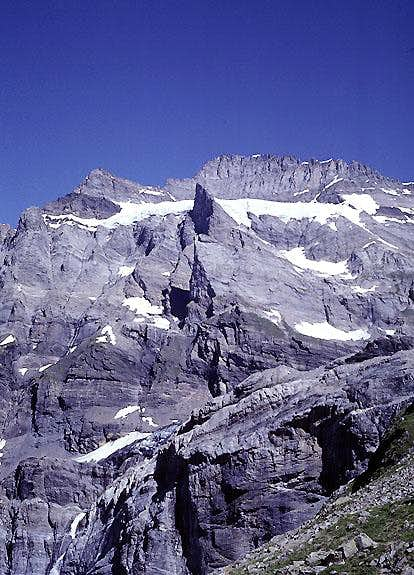 The Fründenhorn from the south.