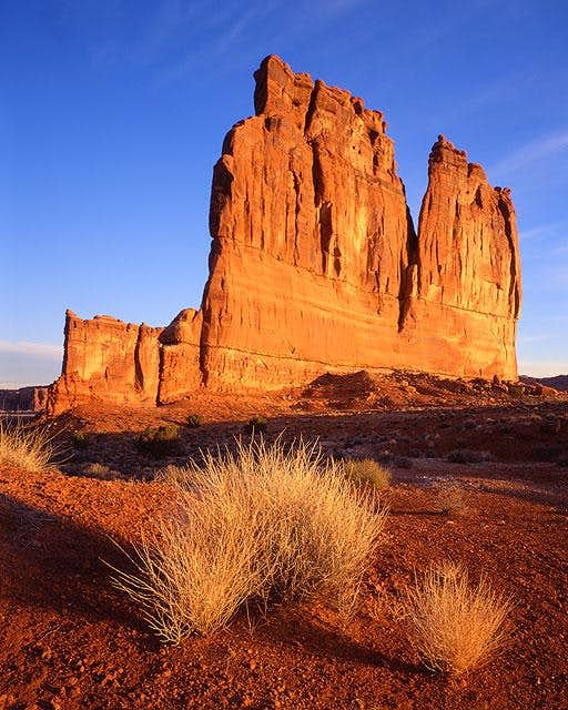 Courthouse Towers, Arches National Park