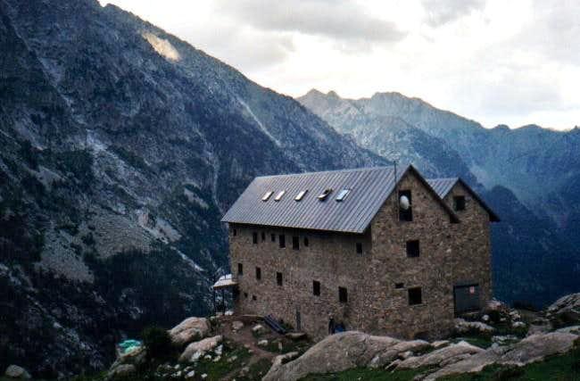 Mountain hut of Angel Orús...