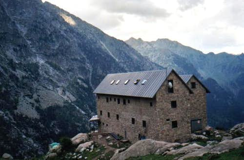 Mountain hut of Angel Orús...