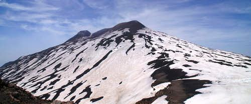 Monte Etna Summit Craters