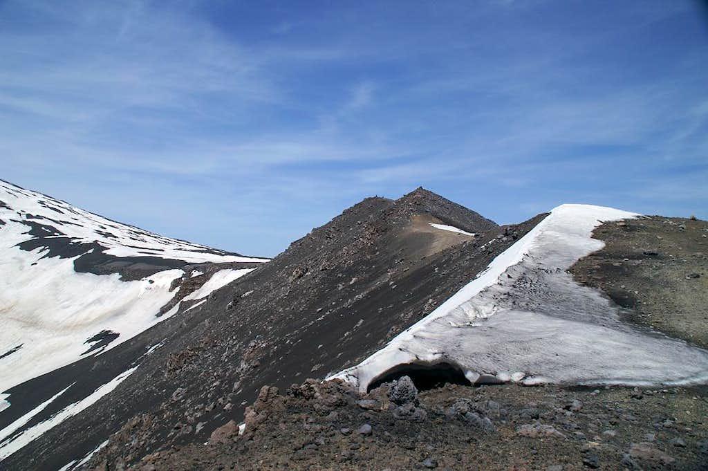 Pizzi Deneri in the eastern shoulder of Monte Etna
