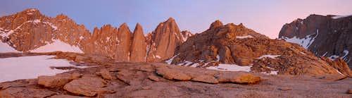 Whitney Sunrise Panorama