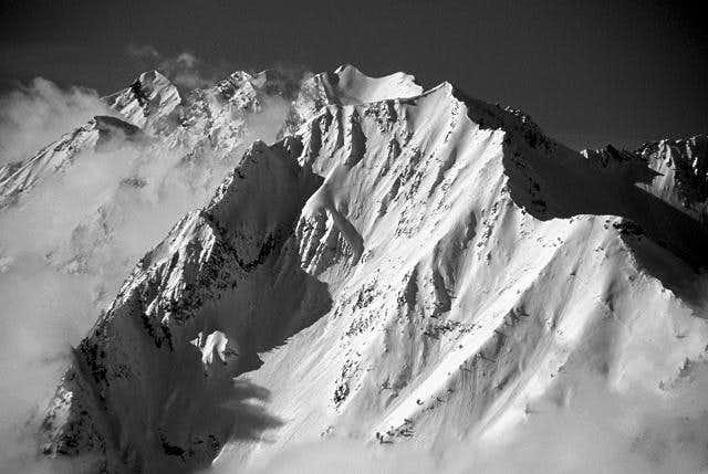 Mt Superior in B&W