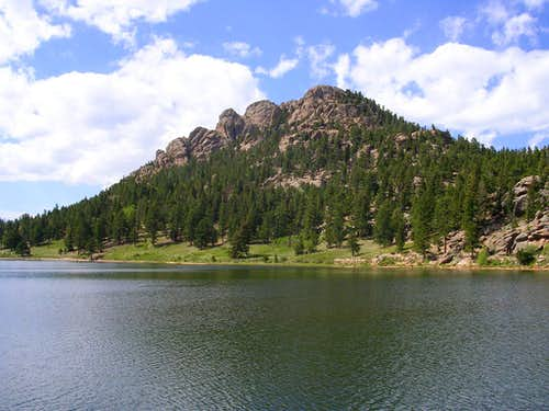 Lily Mountain from Lily Lake