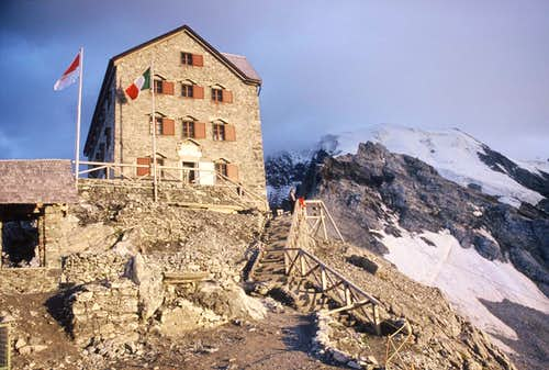 Payer Hut and Ortler