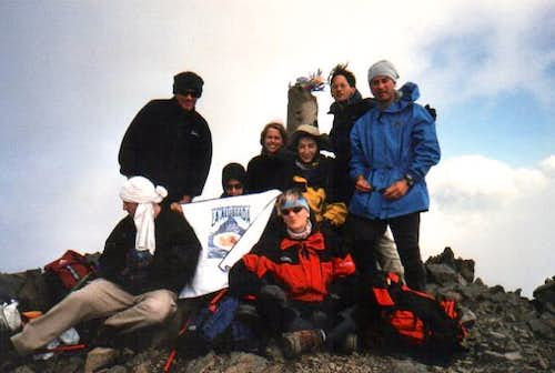 The summit of Posets (3375m)