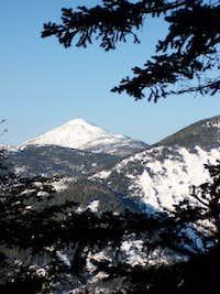 Mt. Marcy from Sawteeth
