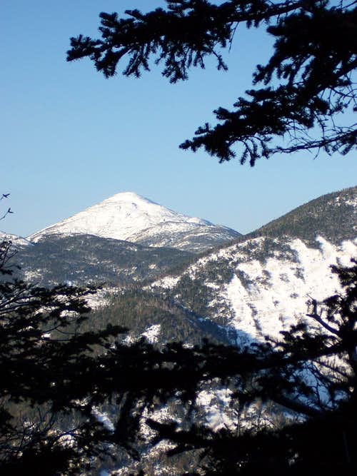 Mt. Marcy from Sawteeth