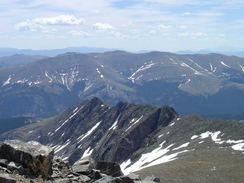Pacific Peak\'s East Ridge
