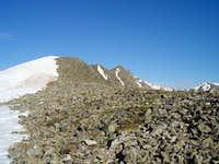 The Start of Scrambling on Pacific's East Ridge