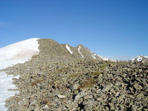 The Start of Scrambling on Pacific\'s East Ridge