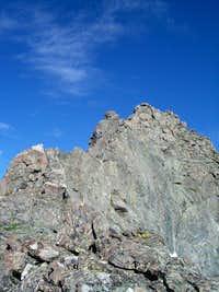 Crux of Pacific's East Ridge