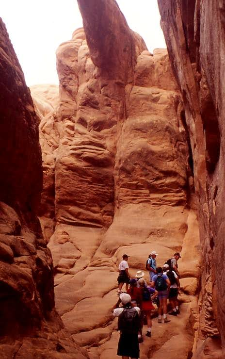 Fiery Furnace, Arches