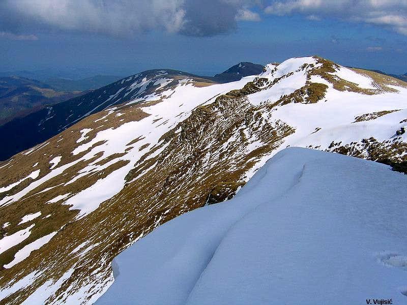 Midzor NW summit view