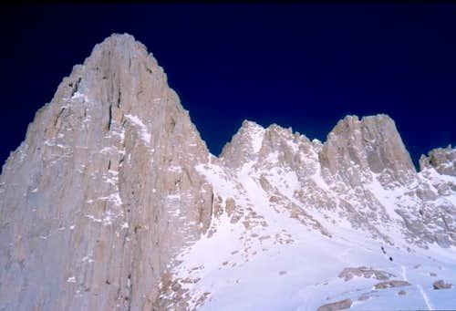 April 19, 2003. Climbers...