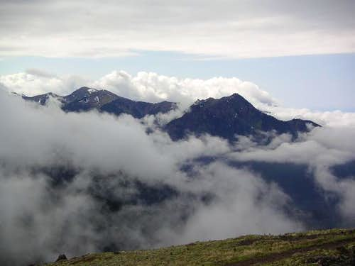 view from mt townsend