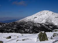 Marcy and Whiteface from Skylight
