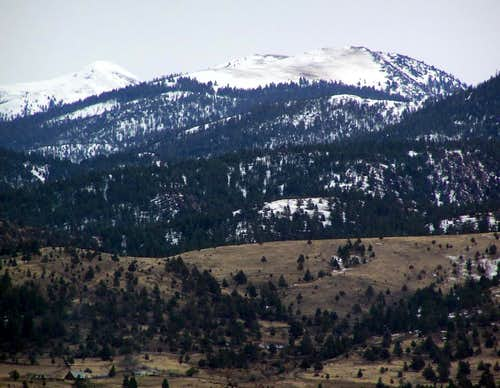 Baldy in Late March
