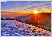 Sveto Brdo sunset