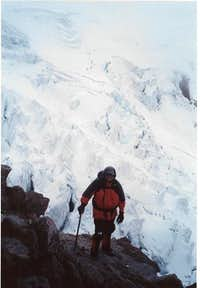 Mike Ostby on Cayambe with...