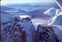 Mendenhall Glacier Towers