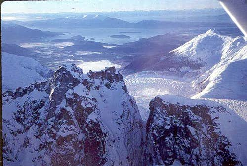 Mendenhall Glacier Towers