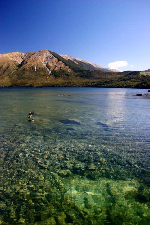 Lake Rotoiti and Mt. Robert