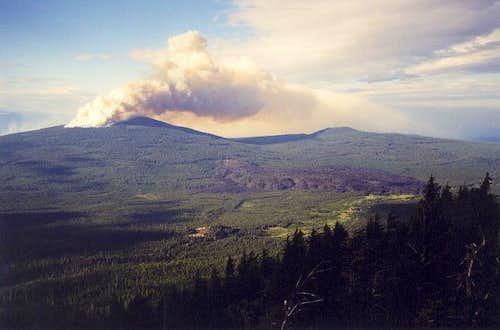 Hamner Butte Fire I