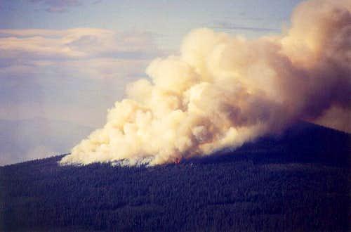 Hamner Butte Fire II