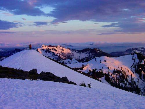 Easton Glacier Twilight
