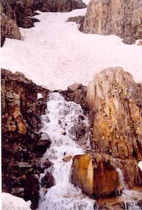 Waterfall (tumble down) in...