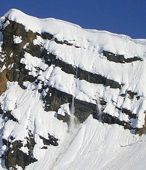 Two Big Avalanches on Barille