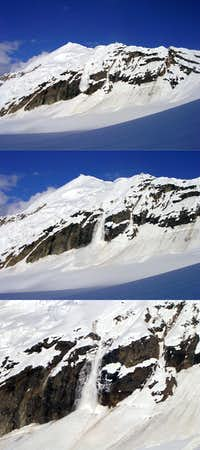 Avalanches Sequence on Mt. Barille